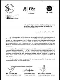 Informe Liquidación Presupuestaria 2015 Intervención Municipal de Torrejón de Ardoz